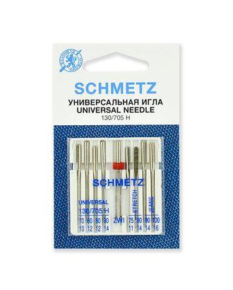 Иглы комбинированные набор, Schmetz арт. ИБН-6-1-37091