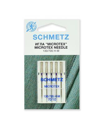 Иглы микротекс (особо острые) №70/10, Schmetz арт. ИМК-1-1-37099