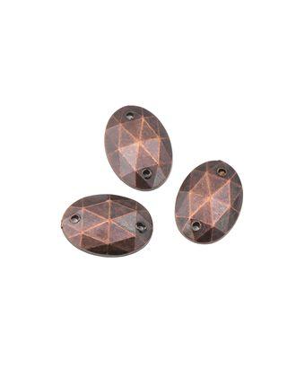 Стразы пришивные акрил р.0,9x1,3 см арт. ДФП-51-1-5119