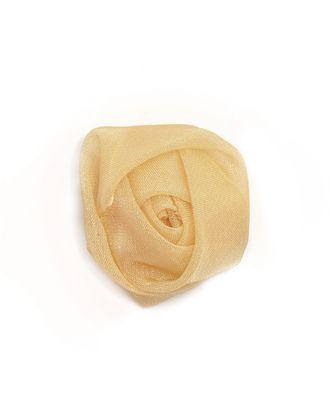 Роза органза д.3 см арт. ЦЦ-42-8-8854.003
