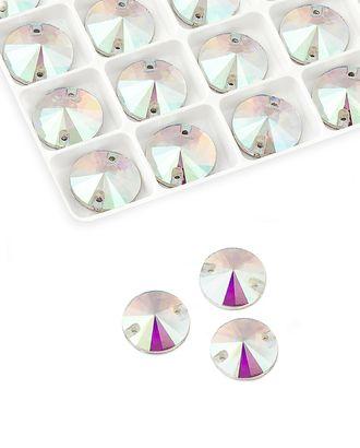 Стразы пришивные стекло д.1,4 см арт. ПСС-33-1-34137