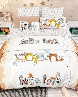 Кошкин дом (сатин детский) арт. СД-98-1-1516.003