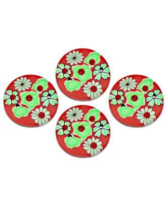 Декоративный элемент д.2,5 см (пластик) арт. ДФП-69-4-8676.008