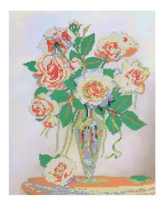 """Рис. на ткани  """"Букет для любимой"""" арт. ВТ-13-1-16715"""
