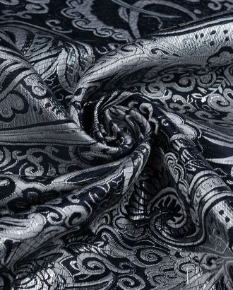 Парча жаккард с серебром арт. ПРЧ-11-5-20253.001