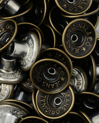 Пуговицы джинсовые 26L (металл) арт. ПМ-322-1-34620