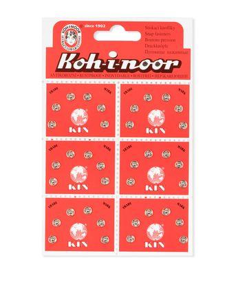Кнопки KOH-I-NOOR №2/0 (д.5мм) арт. КНП-53-1-30877