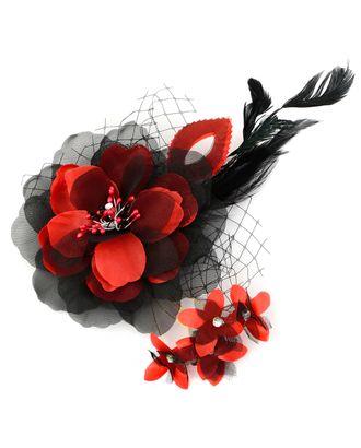 Цветок-брошь д.14 см арт. ЦБ-39-1-30350