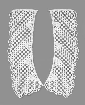Воротник плетеный из 2-х частей р.7х25 см арт. ГВ-84-1-31077