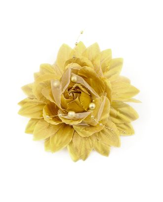 Цветок-брошь д.11 см арт. ЦБ-38-1-30354