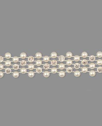 Тесьма полубусы ш.1,5 см арт. ТМП-114-1-31136.002
