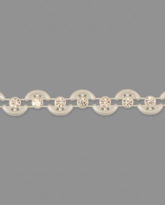 Тесьма стразы пластик ш.0,9 см арт. ТМП-113-1-31135.002