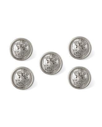 Пуговицы 24L (металл) арт. ПУМ-375-4-15874.004
