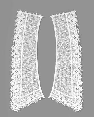 Воротник плетеный из 2-х частей р.9х25 см арт. ГВ-91-1-31076