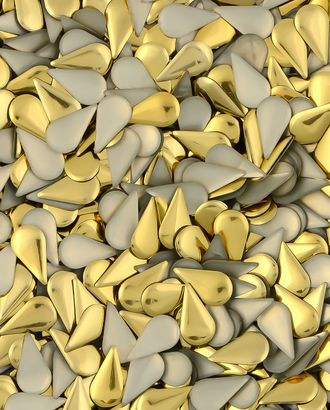 Стразы термо металл р.0,6х1,2 см арт. СТМ-18-4-30470.002