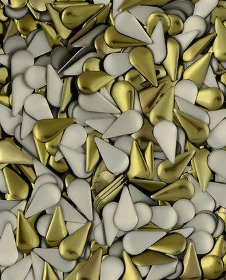 Стразы термо металл р.0,6х1,2 см арт. СТМ-18-5-30470.001