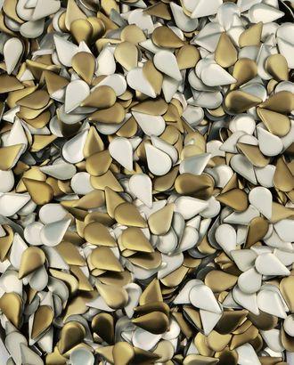 Стразы термо металл р.0,5х0,8 см арт. СТМ-15-1-30472.001