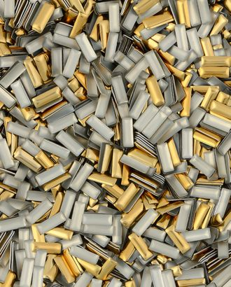 Стразы термо металл р.0,3х0,7 см арт. СТМ-55-1-30460.001