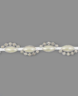 Тесьма стразы ш.1,3 см арт. ТМП-73-2-16900.008