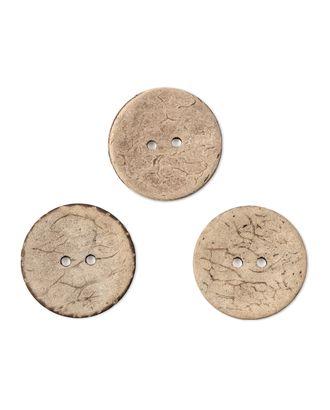 Пуговицы 36L (кокос) арт. ПК-67-1-35402