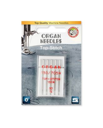 Иглы ORGAN Top-Stitch №90/14 арт. ИБО-1-1-34031