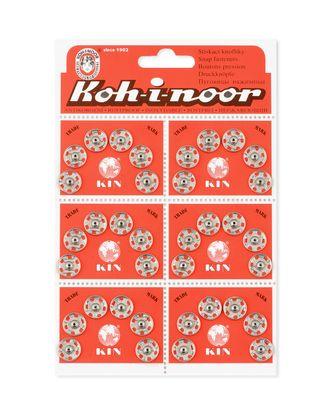 Кнопки KOH-I-HOOR №4 (д.11,5мм) арт. КНП-56-1-31403