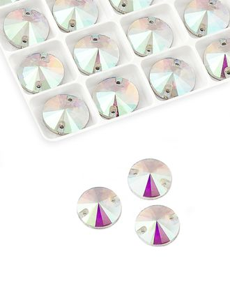 Стразы пришивные стекло д.1,6 см арт. ПСС-27-1-34129