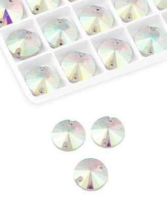 Стразы  пришивные стекло д.1,8 см арт. ПСС-30-1-34139