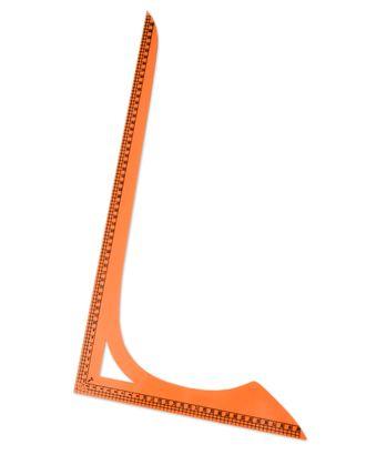 Лекало треугольник р.31x56 см (пластик) арт. ЛЕ-33-1-13632