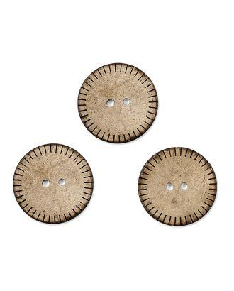 Пуговицы 40L (кокос) арт. ПК-174-1-36632