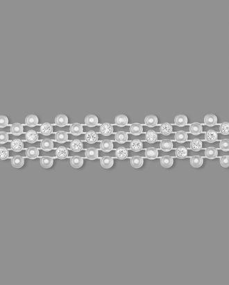 Тесьма полубусы ш.1,5 см арт. ТМП-74-2-3284.001