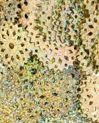 Пайетки снежинка д.3 см арт. ПЕО-18-3-18201.003