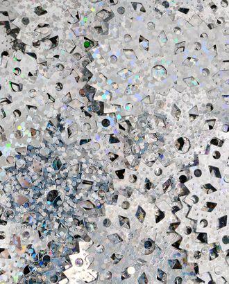 Пайетки снежинка д.3 см арт. ПЕО-18-2-18201.002