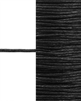 Шнур вощеный д.0,1 см арт. ШД-93-2-32710.003