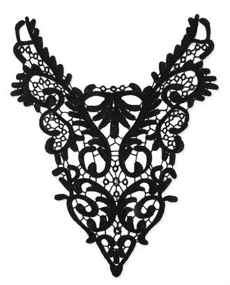 Воротник плетеный р.31x39 см арт. ГВ-98-1-32551.002