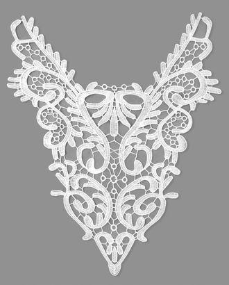 Воротник плетеный р.31x39 см арт. ГВ-98-2-32551.001