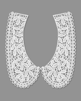 Воротник плетеный р.половины 9x20,5 см арт. ГВ-100-1-32776