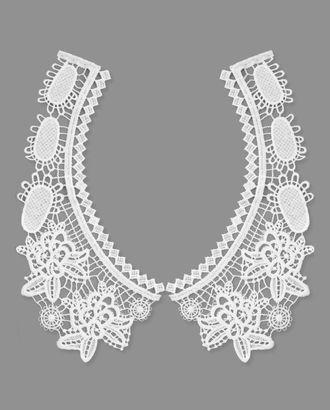 Воротник плетеный р.половины 10x24 см арт. ГВ-102-1-32716
