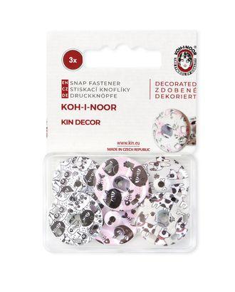 Кнопки KOH-I-HOOR №8 (д.21мм) арт. КНП-59-1-31599