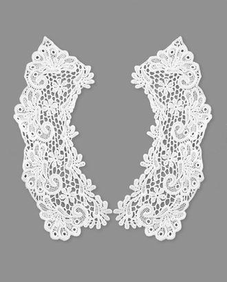 Воротник плетеный р.половины 8х24 см арт. ГВ-103-1-32738