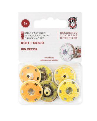 Кнопки KOH-I-HOOR №8 (д.21мм) арт. КНП-57-1-31601
