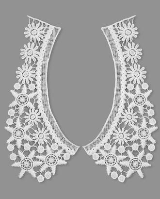 Воротник плетеный р.половины 10х23 см арт. ГВ-106-1-32717