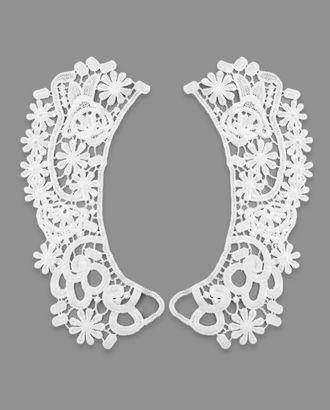 Воротник плетеный р.половины 7х21 см арт. ГВ-104-1-32739
