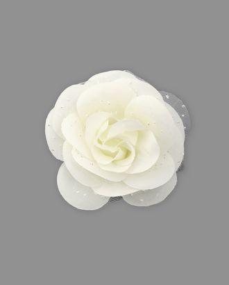 Цветок-брошь д.6,5 см арт. ЦБ-50-1-32691