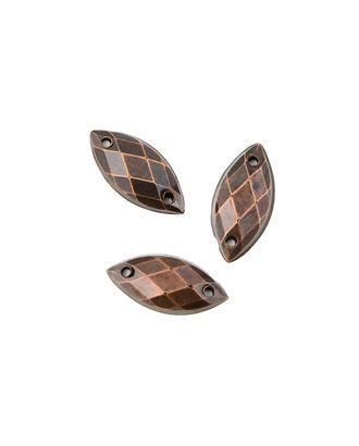 Стразы пришивные акрил р.0,6х1,3 см арт. ДФП-46-2-5131.001