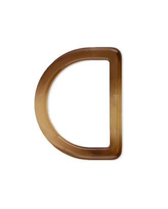 Пряжка-полукольцо ш.4 см арт. ПП-581-2-37030.002
