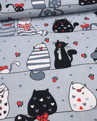 Коты (Бязь 150 см) арт. БД-482-1-1517.071