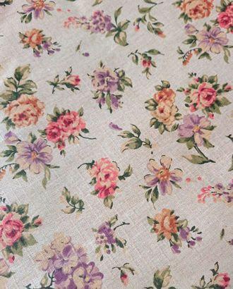 Вальс цветов (Полулен скатертный) арт. ПЛС-66-1-1543.009