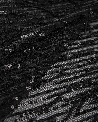 Вышивка на сетке пайетка арт. КПГН-77-1-20689.001