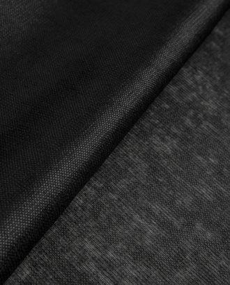 Флизелин нитепрошивной 35 г/м черный арт. КФ-31-1-20617